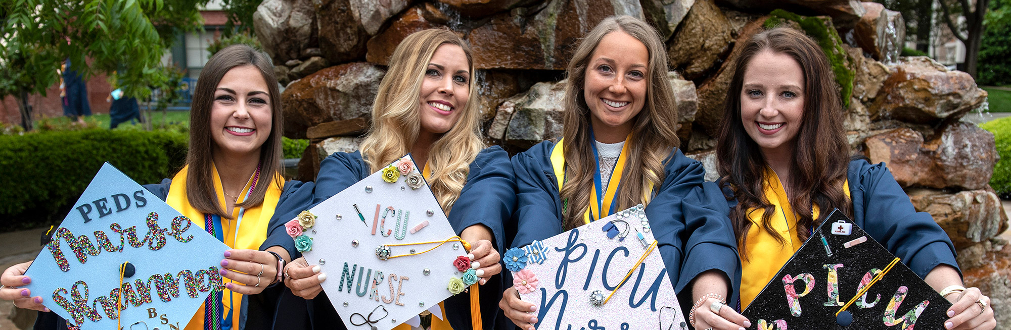 photo of uco nursing graduates